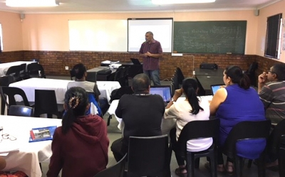 Computer Lessons At Acacia Primary School
